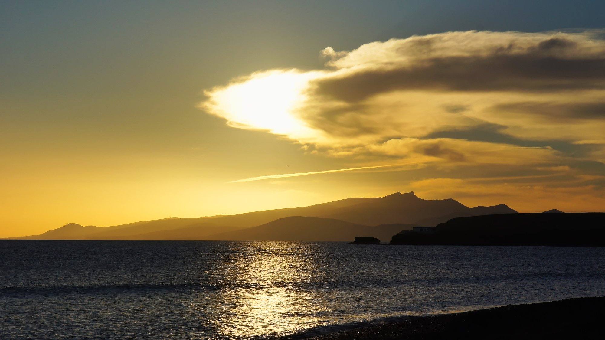 Sonnenuntergang Pico de la Zarza