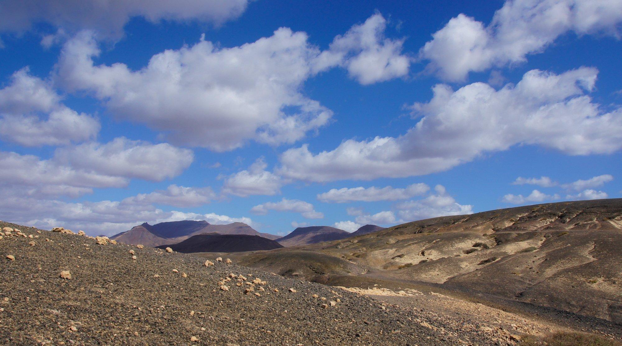 Blick zum Montaña Cardón